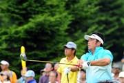 2012年 長嶋茂雄 INVITATIONAL セガサミーカップゴルフトーナメント 最終日 小田龍一
