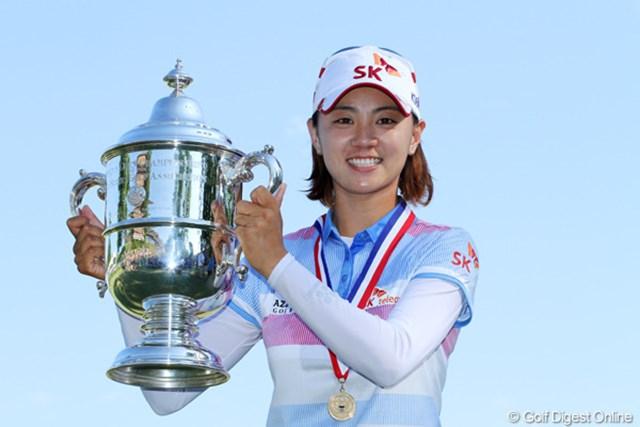 2012年 全米女子オープン 最終日 チェ・ナヨン 中盤の試練を乗り越え、メジャー初タイトルを獲得したチェ・ナヨン
