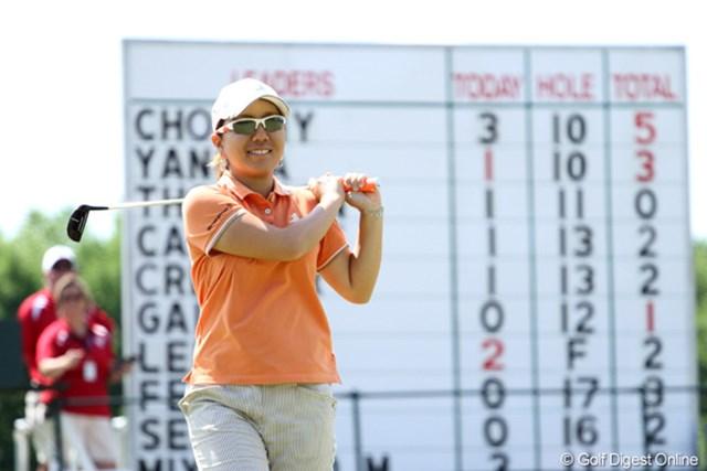 2012年 全米女子オープン 最終日 宮里美香 最終日に崩れたが、日本勢では最上位となる7位タイで4日間を終えた宮里美香