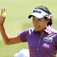トップ5までに3人の韓国人選手が入った。最終日に-2で順位を16位上げ4位タイでフィニッシュ 2012年 全米女子オープン 最終日 I.H.リー