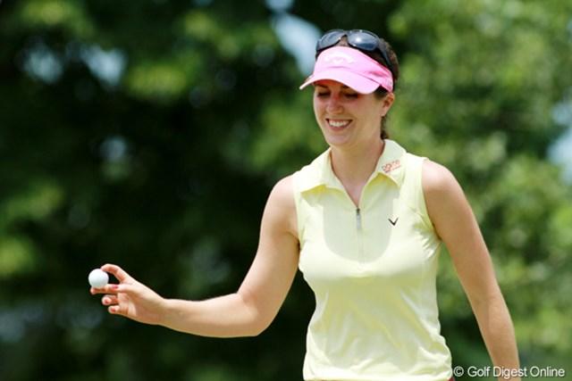 2012年 全米女子オープン 最終日 サンドラ・ガル 韓国勢に一矢報いるべく単独3位でフィニッシュ。