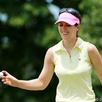 韓国勢に一矢報いるべく単独3位でフィニッシュ。 2012年 全米女子オープン 最終日 サンドラ・ガル