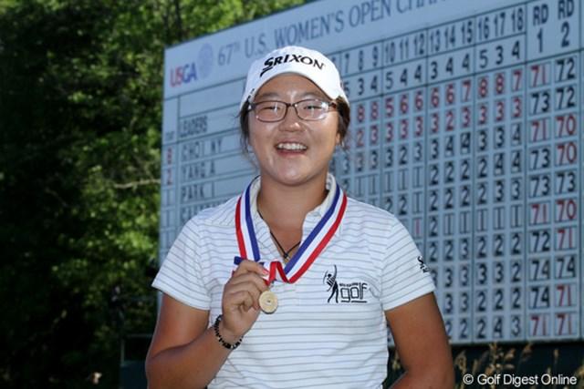 2012年 全米女子オープン 最終日 リディア・コー アマチュアランク1位の実力を見せて39位タイのベストアマに輝いた