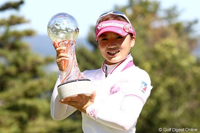 昨年は有村智恵が大会2勝目を達成。アルバトロスあり、ホールインワンありと、魅せに魅せた3日間だった