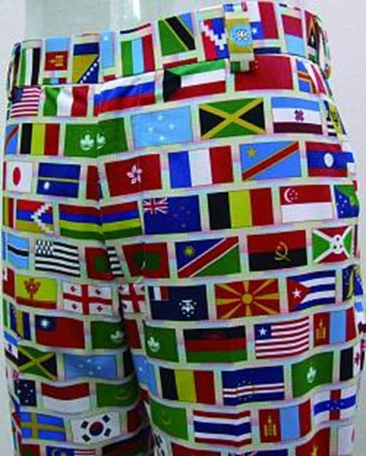 五輪開催を祝うワールドワイドなパンツが登場