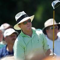 5アンダーをマークし単独首位に立ったトム・カイト(Gregory Shamus/Getty Images) 2012年 全米シニアオープン選手権 初日 トム・カイト
