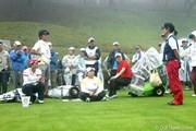 2012年 スタンレーレディスゴルフトーナメント 初日 上原彩子 アンソンジュ 比嘉真美子