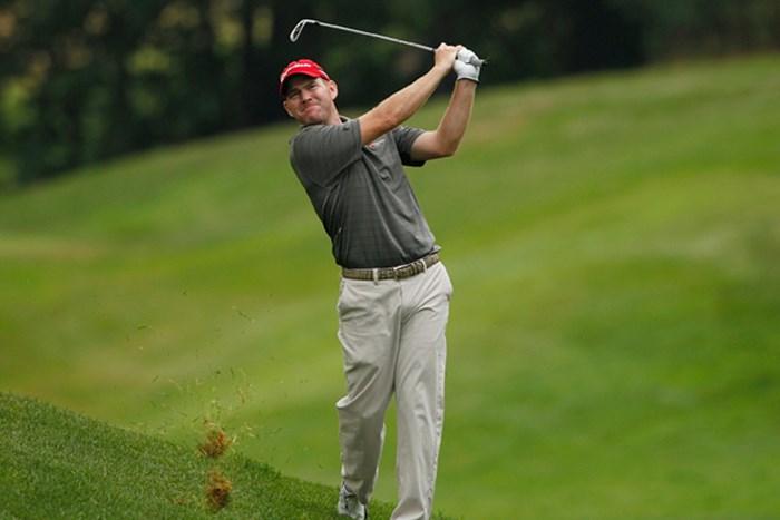予選2日間首位をキープしているトロイ・マッテソン(Michael Cohen/Getty Images) 2012年 ジョンディアクラシック 2日目 トロイ・マッテソン