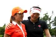 2012年 スタンレーレディスゴルフトーナメント 最終日 有村智恵 大和笑莉奈