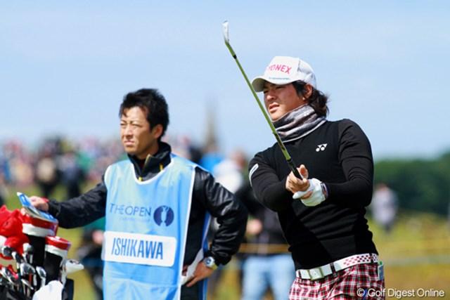 ゴルフの調子も、ショットの手応えも良好。準備万端の石川遼