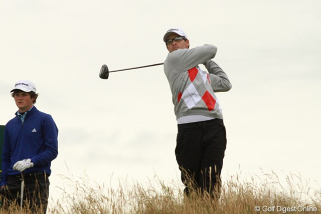 2012年 全英オープン 初日 アダム・スコット コースレコードに並ぶ「64」で単独首位に立ったアダム・スコット