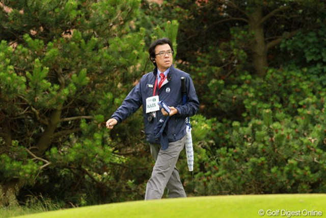 海外メジャーの舞台で競技委員を務める日本ゴルフツアー機構の山中専務理事
