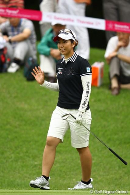 相変わらず安定してるなぁ。りっちゃんのゴルフ見てると、ゴルフって簡単に思えるんですよねぇ。