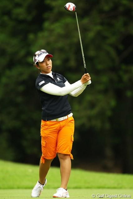 2012年 サマンサタバサ ガールズコレクション・レディーストーナメント 最終日 笠りつ子 バックナインで崩れるなんて、今日はりっちゃんらしさが出ず残念。