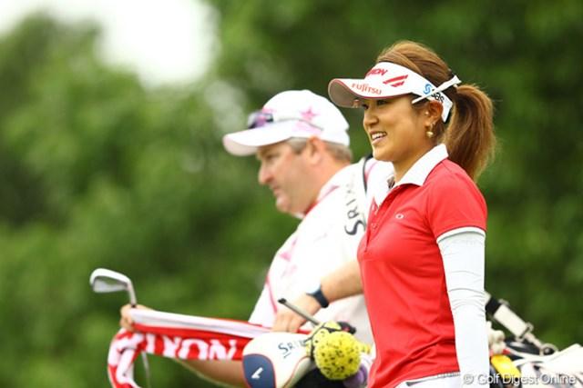2012年 サマンサタバサ ガールズコレクション・レディーストーナメント 最終日 藤本麻子 珍しく出入りの激しいゴルフだったなぁ。