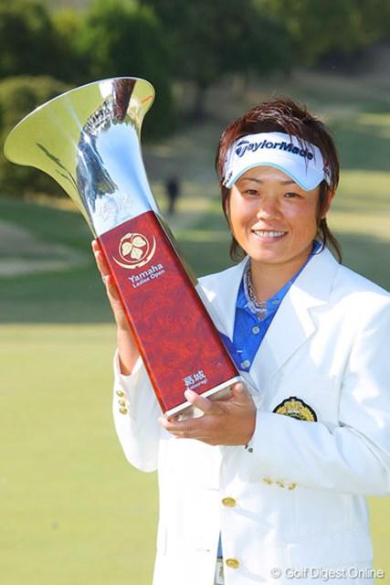 山口裕子 昨年1オーバーで優勝した山口裕子。今年も我慢比べの戦いとなるのか!?