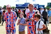 2012年 全英オープン 最終日 ユニオンジャック