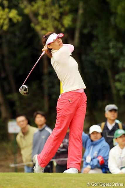 ジュリー呂 3バーディ、ノーボギーで2位タイに食い込んだ台湾のジュリー呂