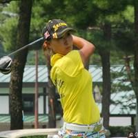 悔しさ、悲しみも束の間、木戸は次なる目標に向けて前進する。 2012年 LPGAプロテスト 木戸侑来(ゆきな)