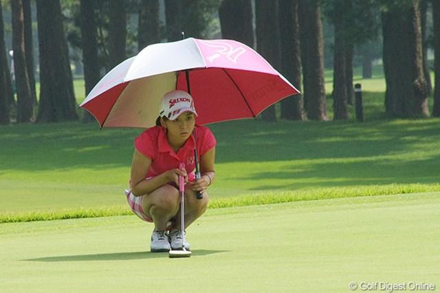 2012年 LPGAプロテスト 森美穂 「ショットがよくなかった」と、2度目の悔し涙を飲む結果に。気持ちの整理がつかないのか「次の目標は考えられない」と涙に暮れた。