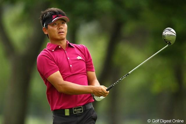 中国出身の呉阿順。2年ぶりの出場となる今年、首位タイと絶好のスタートを切った