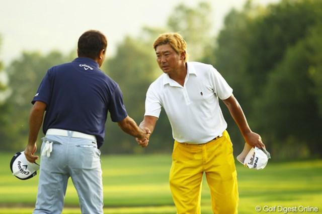ツアー初勝利に前進! 首位タイで決勝ラウンドを迎える塚田好宣