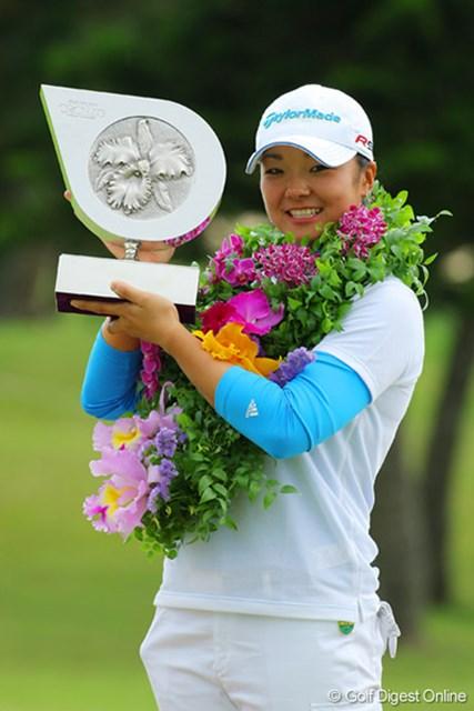 三塚優子 苦しみながらもツアー3勝目を挙げた三塚優子