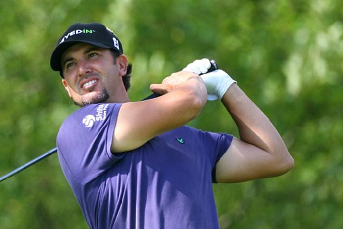 決勝ラウンドにトップタイで入るスコット・ピアシー(Hunter Martin/Getty Images) 2012年 RBCカナディアンオープン 2日目 スコット・ピアシー