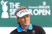 2012年 全英シニアオープン 3日目 ベルンハルト・ランガー
