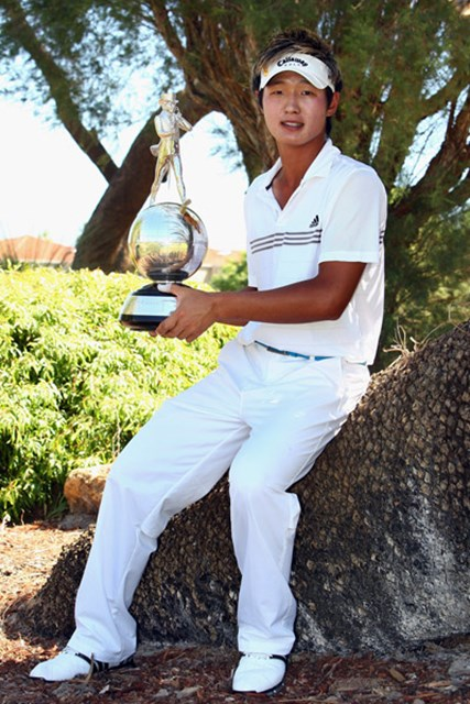 18歳のアマチュア、D.リーが逆転勝利! 欧州ツアー史上2人目の快挙だ(Ian Walton /Getty Images)