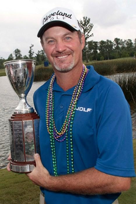 7年ぶりとなる久々の栄冠を手にしたJ.ケリー(Dave Martin /Getty Images) ジェリー・ケリー
