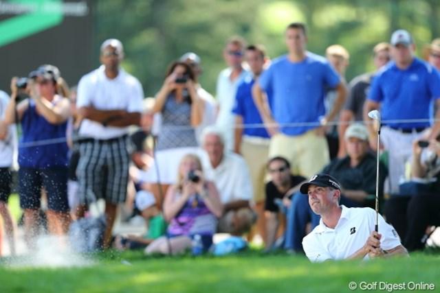 2012年 WGCブリヂストンインビテーショナル マット・クーチャー 「素晴らしいゴルフコース。体調もゴルフの調子も良い。ホストプロとして勝ちたい」とクーチャー。