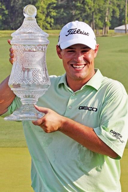 ジェイソン・ワグナー 昨年、ツアー初勝利と「マスターズ」出場権を手にしたJ.ワグナー(Marc Feldman /Getty Images)