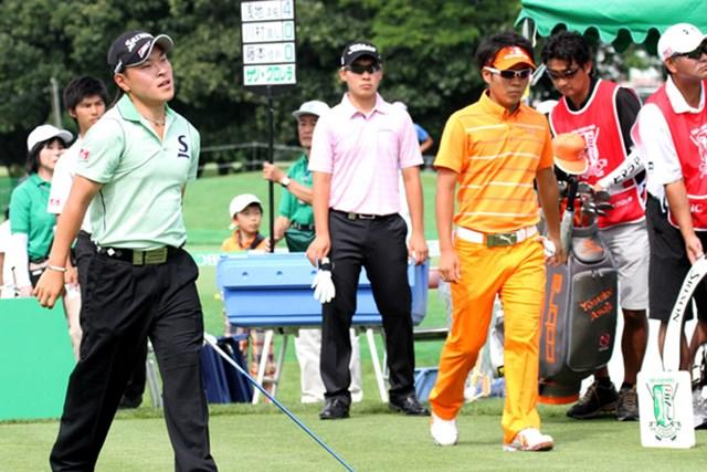 川村昌弘(中央)、藤本佳則(左)、浅地洋佑。三者三様、ルーキー3人衆への期待は高い