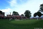 2012年 WGCブリヂストンインビテーショナル 最終日 18番グリーン