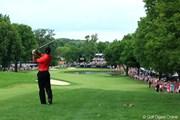 2012年 WGCブリヂストンインビテーショナル 最終日 タイガー・ウッズ
