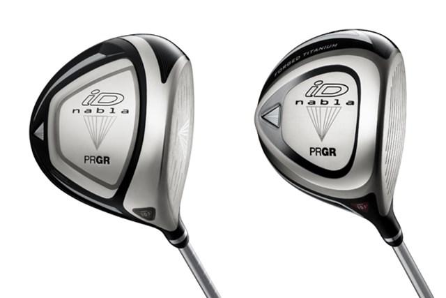 写真左:アベレージ向け「iD nabla X ドライバー」体積は460cc。写真右:アスリート向け「iD nabla BLACK」体積は440cc