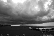 2012年 全米プロゴルフ選手権 事前 雨雲