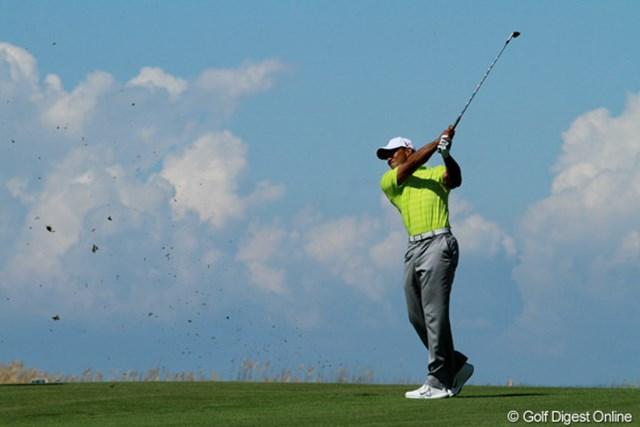 2012年 全米プロゴルフ選手権 初日 タイガー・ウッズ 今年最後のメジャーで-3(14位タイ)と上々の出だし。最終日まで戦いきれるか?