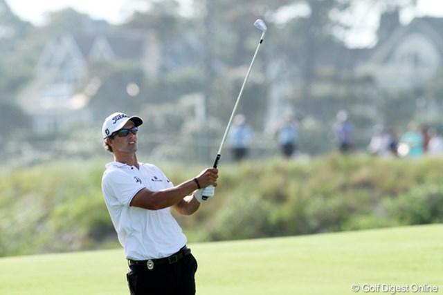 2012年 全米プロゴルフ選手権 初日 アダム・スコット 全米プロ初日、A.スコットは4アンダーの6位タイと好発進。無念を晴らす旅が始まった