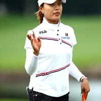 知らない人もいるかと思いますが韓国人です、4アンダー1位タイ。 ジャン・ウンビ/NEC軽井沢72初日