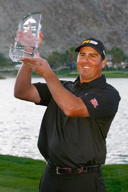 逆転で嬉しいツアー初勝利を飾ったP.ペレス(Jeff Gross /Getty Images)