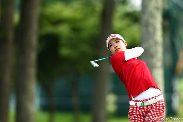 海外メジャー最終戦「全英リコー女子オープン」への出場をほぼ決めている大江香織が好スタート!