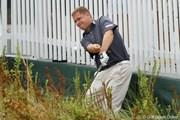2012年 全米プロゴルフ選手権 2日目 トラブル