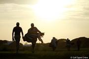 2012年 全米プロゴルフ選手権 2日目 日没