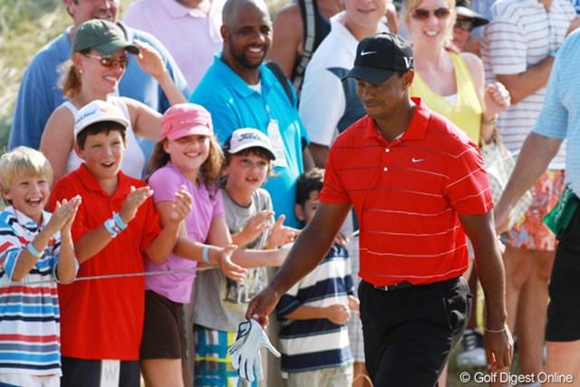 2012年 全米プロゴルフ選手権 最終日  声援 優勝はできなかったが、応援してくれるファンは変わらない。また来年、ワクワクさせて欲しい