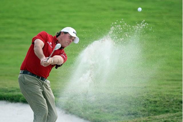 フィル・ミケルソン 2日目を終え首位のフィル・ミケルソン。WGC未勝利のジンクスを破れるか?(David Cannon/Getty Images)