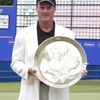 5年ぶりの勝利に涙!通算8勝目を挙げたT.ハミルトン 2003年 フジサンケイクラシック 最終日 トッド・ハミルトン