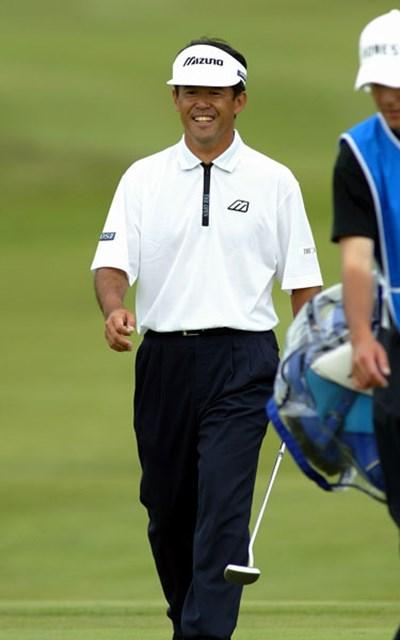 2003年 日本プロゴルフ選手権大会 2日目 鈴木亨 1人きりのラウンド!?鈴木亨が11アンダー単独首位