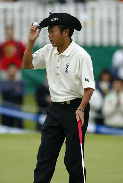 2003年 日本プロゴルフ選手権大会 2日目 片山晋呉 昨年の雪辱に燃える片山晋呉が4打差の2位に浮上